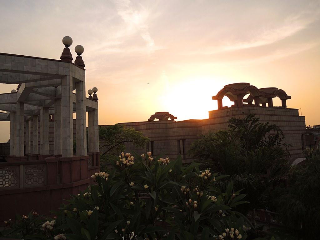 iskcon, Храм Исккон, Храм Радхи-Партхасаратхи в Дели
