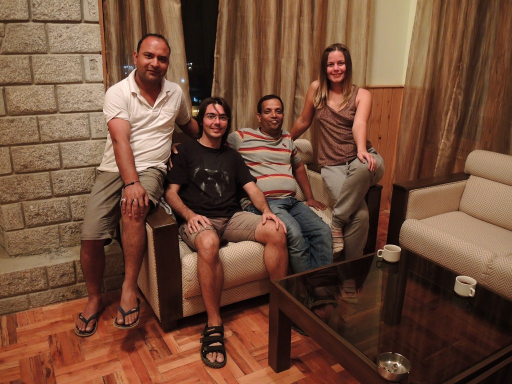 Алексей Кузнецов, Индия, деревня Prini